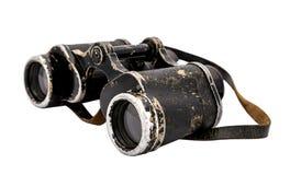binoculars isolated vintage 免版税库存图片