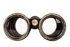 binoculars isolated vintage 免版税图库摄影