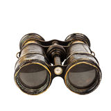binoculars isolated vintage 库存照片