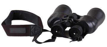 Binoculars isolated on white Stock Photography