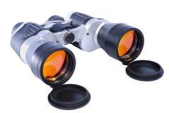 Binoculars isolated on white Stock Images
