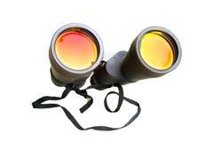 Binoculars isolated on white background Stock Photography