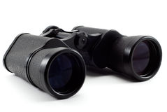 Binoculars isolated on a white background royalty free stock image