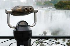 Binoculars at niagara falls Stock Photos