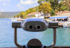 Binoculars onboard ferry. Stock Images
