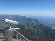 Binoculars on Tahtali Mountain. Near Antalya, Turkey Stock Image
