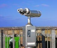 Binoculars for tourists royalty free stock photos