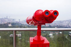 Binoculars for viewing Royalty Free Stock Images