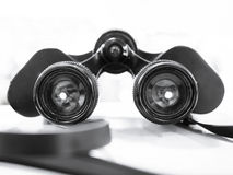 Binoculars Vinatge Travel Lifestyle concept Stock Photography