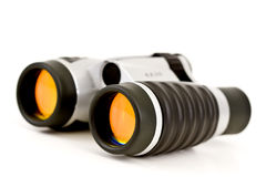 Binoculars w/Orange Lenses Royalty Free Stock Photo