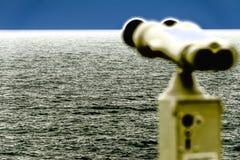 Binoculars, watching the skyline IV Royalty Free Stock Photography