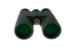Binoculars on White. Green Hunting Binoculars Isolated On White Background Stock Photography