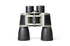 Binoculars on white Royalty Free Stock Photo