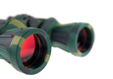 Binoculars on white background Royalty Free Stock Images