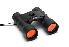 Binoculars on a white background Royalty Free Stock Photos