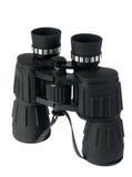 Binoculars on the white background Stock Photography