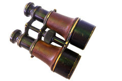 Binoculars on white background Stock Photography