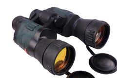 Binoculars on white background Royalty Free Stock Photography