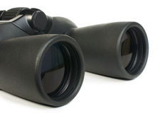 Binoculars white isolated Royalty Free Stock Photo