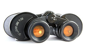 Binoculars with yellow filter Royalty Free Stock Images