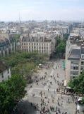 Binokel Paris-View lizenzfreies stockfoto