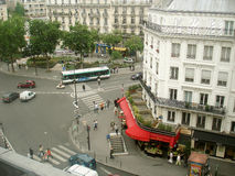 Binokel Paris-View Lizenzfreies Stockbild
