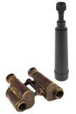 Binokel und Teleskope Stockbilder