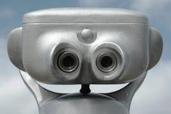 binokulär grey royaltyfri bild