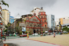 Binondo Church in Chinatown, Manila, Philippines Stock Image