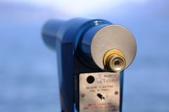 Binoscope, ponto de vista imagem de stock royalty free