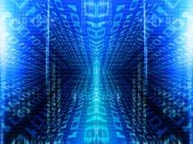 binär kod Fotografering för Bildbyråer