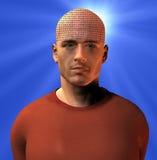 binär mening Arkivfoto