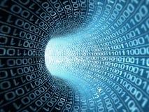 binär ström Fotografering för Bildbyråer