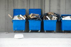 Bins Stock Photos