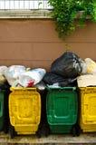 The bins Royalty Free Stock Photos