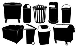 Bins Royalty Free Stock Photo