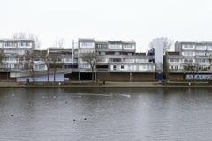Binsey går, södra bara, Thamesmead fotografering för bildbyråer