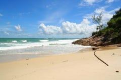 bintan的海滩 免版税库存照片