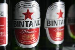 Bintang-Bier Stockfoto
