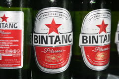 Bintang-Bier Stockbilder