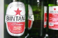 Bintang-Bier Stockfotos