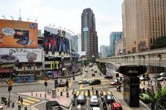 bintang bukit Kuala Lumpur Arkivbild