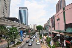 bintang bukit Kuala Lumpur Arkivbilder