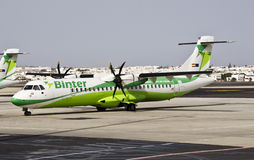 Binter Canarias, ATR 72 - 500 Stock Photography