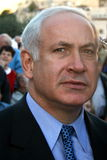 Binyamin Netanyahu Royalty Free Stock Photo
