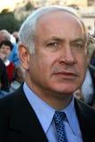 Binyamin Netanyahu Lizenzfreies Stockfoto