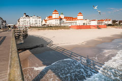 Binz resort  on Ruegen, Germany Stock Images