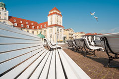 Binz resort  on Ruegen Island Royalty Free Stock Images