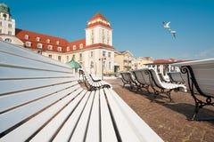 Binz resort  on Ruegen Island Royalty Free Stock Images