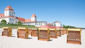 Binz,Ruegen Island,baltic Sea,Germany Royalty Free Stock Photo